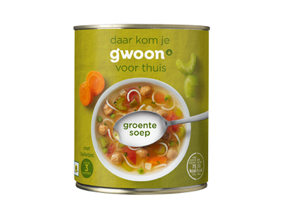 g'woon Soup – Vegetable